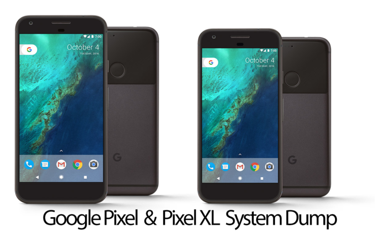 Pixel and Pixel XL System Image